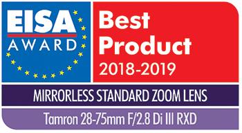 TAMRON | Tamron lenses awarded with two prestigious EISA Awards in 2018